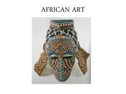 Year 7 African Art powerpoint