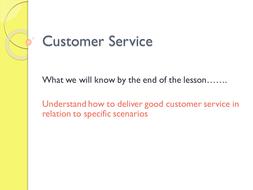 customer service traits