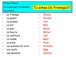 Expo 2 Vert Module 4 - Food Preferences