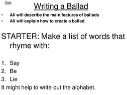 ballad sow for year 8 by davidapaige teaching resources tes