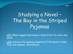 Boy in the Striped Pyjamas Scheme Resources