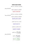 Double Angle Formulae.doc