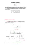 Parametric Equations.doc