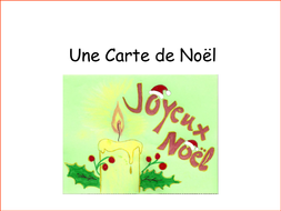 French christmas cards by frenchgerman teaching resources tes french cardsc card instructionsppt m4hsunfo
