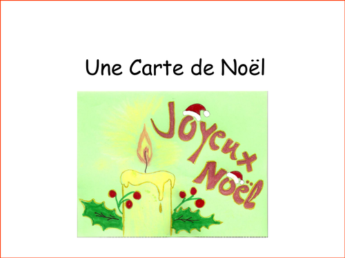 French christmas cards by frenchgerman teaching resources tes m4hsunfo
