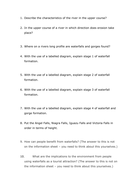 Waterfalls and gorges Q's.docx