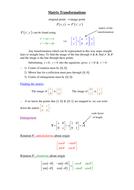 Matrix Transformations.doc