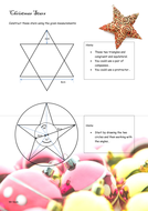 GCSE Maths: Christmas Constructions activities
