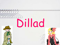Dillad - names of clothes in welsh