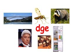 dge spellings