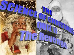 Science of Xmas Quiz II (The Revenge)