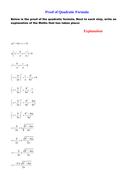 Proof of quadratic formula.doc
