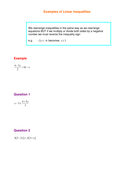 Examples of Linear Inequalities.doc