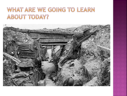 What was trench warfare?