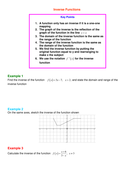 Inverse Functions introduction.doc