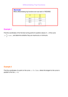 Differentiating Trig Functions Applications.doc