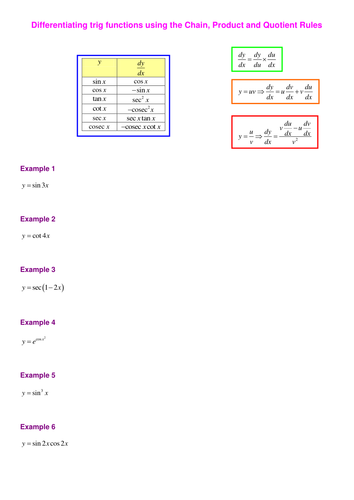 Collection of Inverse Trig Function Worksheet - Sharebrowse