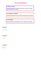 Chain Rule Quick Methods.doc