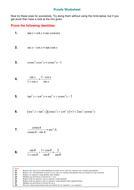 Proofs Worksheet.doc
