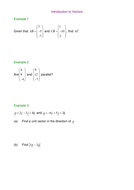 Introduction to Vectors.doc