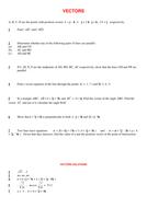 worksheet - vectors.doc