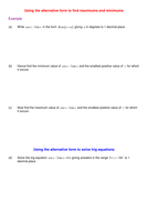Uses of the alternative form examples.doc