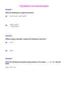 Simpler Trig Addition Formulae Examples.doc