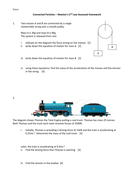 Newtons Laws Homework Sheet