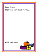 Dear santa thank you letter template by kmed2020 teaching dear santa thank you letter template expocarfo Image collections