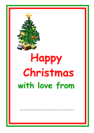 christmas cards with picture insert