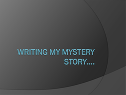 Murder Mystery: Writing