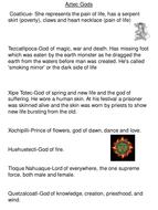 The Aztecs Cross Cirr. Lesson 4