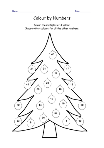 Christmas maths Year 2 Block E Unit 1 by Leawhite