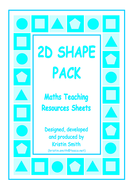 Matching Cards - 2D Shapes Pack