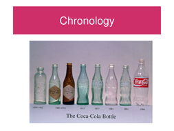 What is chronology?