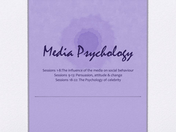 Introduction to Media Psychology