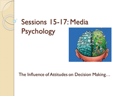 Attitude and Decision Making Powerpoint