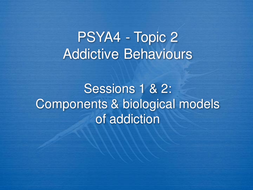 Components & biological model of addiction.ppt