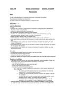 Study Unit Autumn 2008 - DT - fairgrounds - planning.doc
