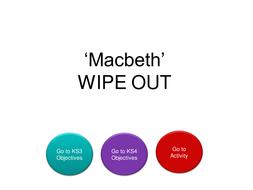 Macbeth: Language Focus Powerpoint Activities