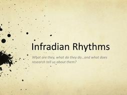 Power point on infradian rhythms