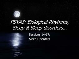 power Point on sleep disorders