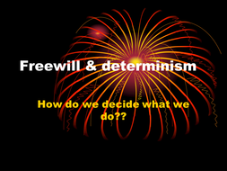 An introduction to determinism
