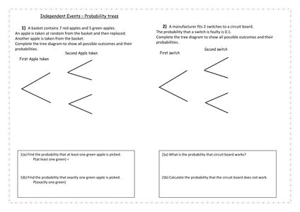 Gcse maths probability questions and answers