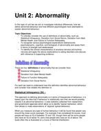 Entire Abnormality Booklet