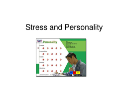 Power point on personality and stress
