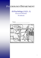 Research Methods Booklet 1