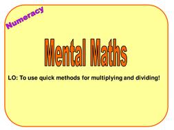 3 Y9 Mental Methods 2.ppt