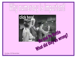 Maths KS3: Numeracy for Y9 resources