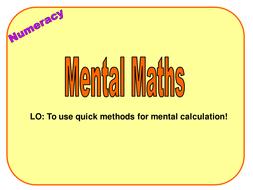 2 Y9  Mental Methods.ppt